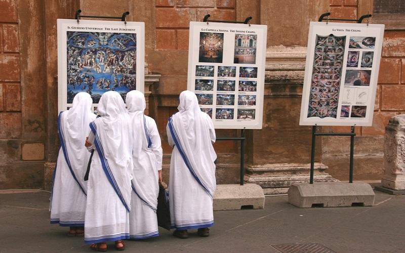 vatykan kapella 2 - Путешествие в Ватикан. Невероятная Сикстинская капелла
