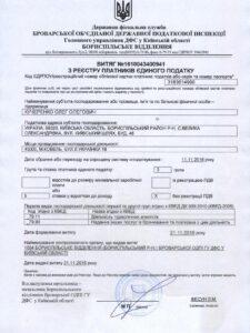 витяг податкова Кучеренко