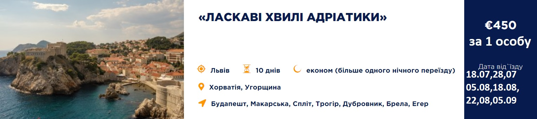 Laskavi hvyli 1 - Хорватія