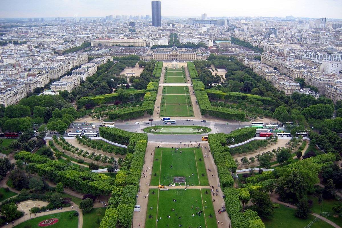 Sad Tyuylry - Топ безкоштовних пам'яток Парижа