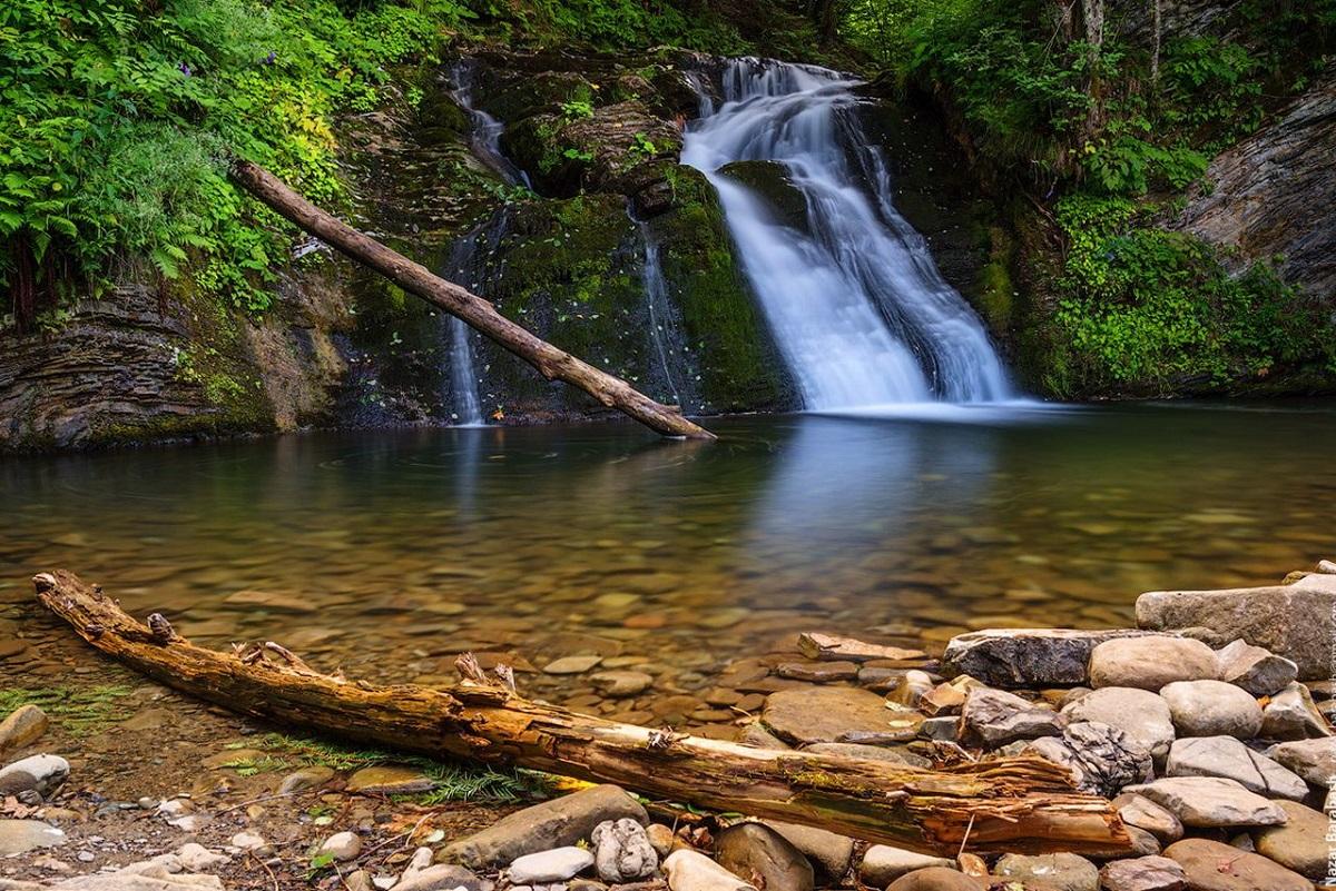 vodospad gurkalo 2 - Целебное Прикарпатье