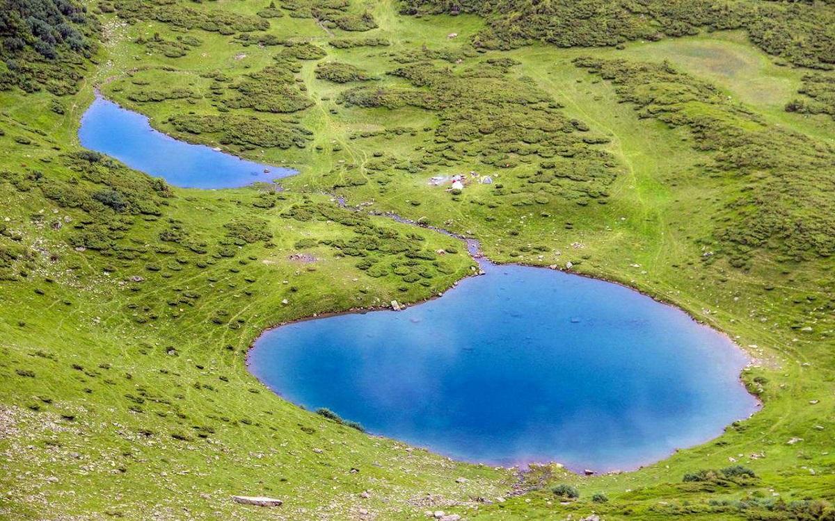 ozero vorozheska 6 - Выходные на высокогорье (Драгобрат)