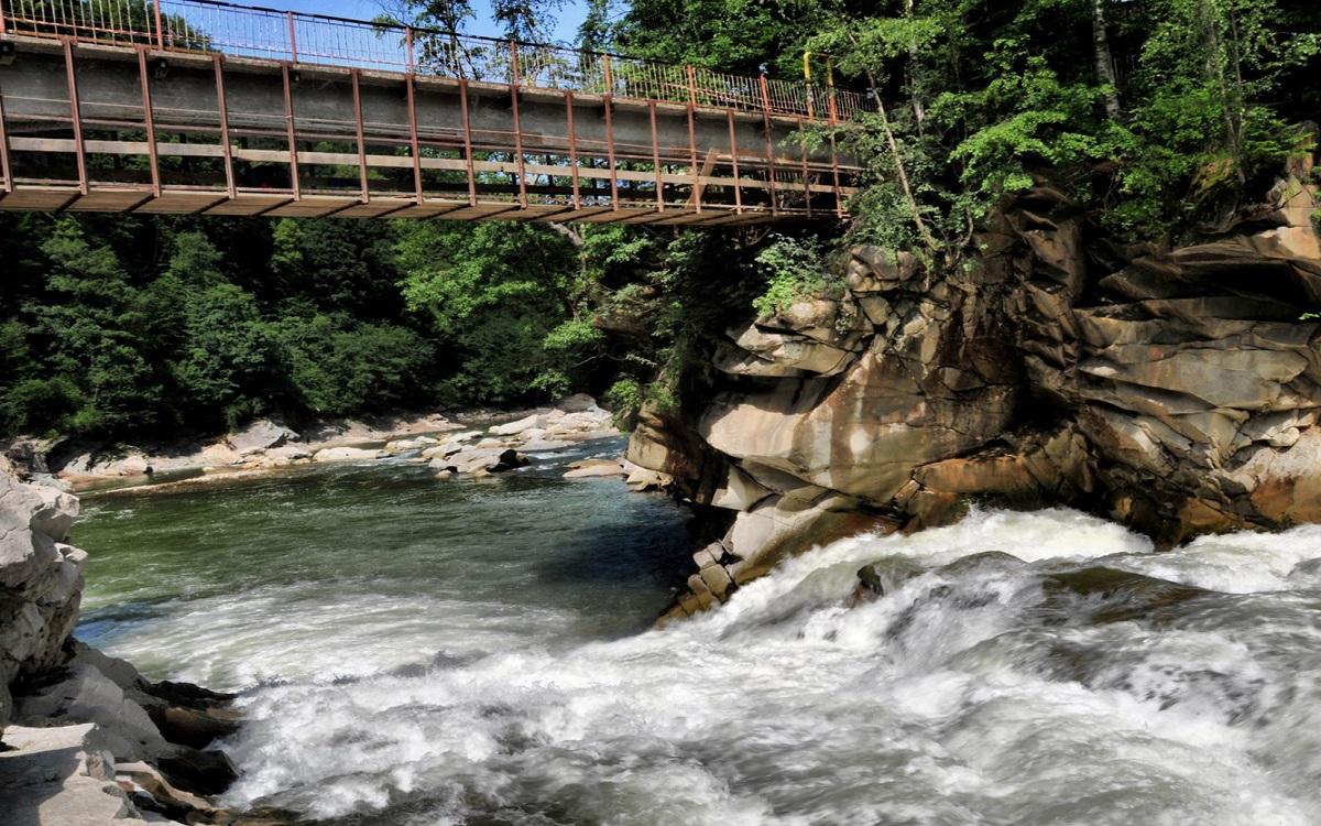 vodospad probii - Гуцульские приключения