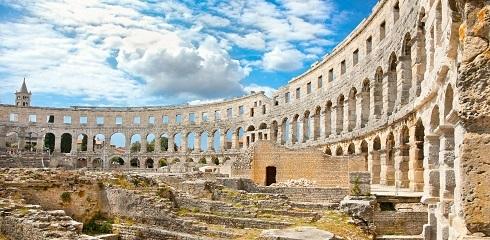 Canva Roman amphitheatre Arena in Pula Croatia. 1 - Хорватия, которую ты не знаешь