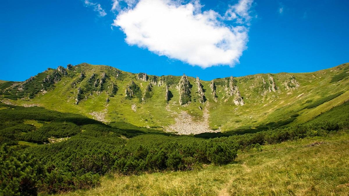 gora shpytsi 1 - Поход на Гору Шпицы