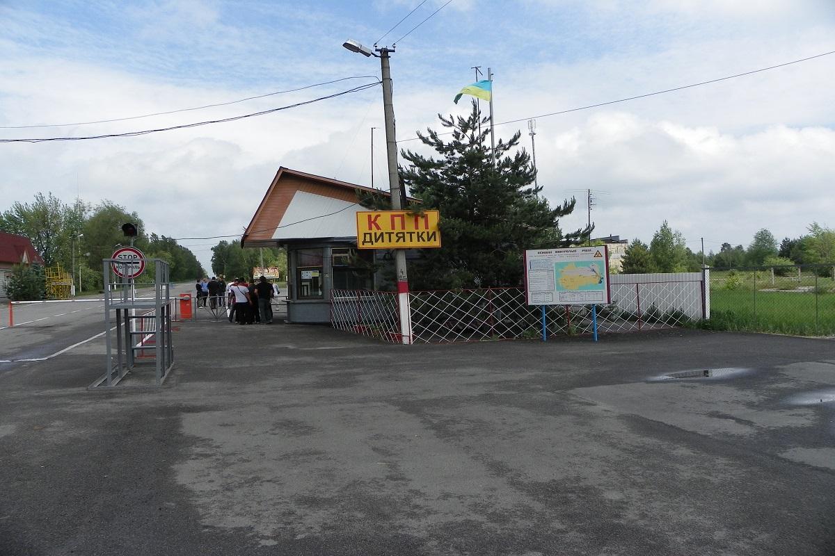 Doroga do kpp Dytyatki 4 - Тур в Чернобыль с Луцка
